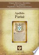 libro Apellido Parisé