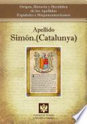 libro Apellido Simón.(catalunya)