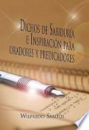libro Dichos De Sabiduría E Inspiración Para Oradores Y Predicadores