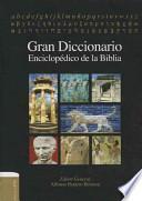 libro Gran Diccionario Enciclopédico De La Biblia