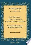 libro Los Tratados Y Otros Convenios Internacionales Del Perú