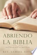 libro Abriendo La Biblia