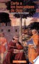 libro Carta A Los Buscadores De Dios