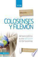 libro Comentario Bíblico Con Aplicación Nvi Colosenses Y Filemón