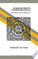 libro Gloria De Dios En Ignacio De Loyola