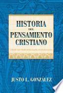 libro Historia Del Pensamiento Cristiano