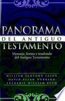 libro Panorama Del Antiguo Testamento