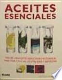 libro Aceites Esenciales