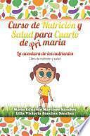 libro Curso De Nutricion Y Salud Para Cuarto De Primaria