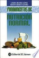 libro Fundamentos De Nutrición Normal