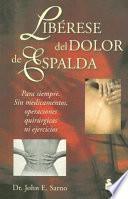 libro Libérese Del Dolor De Espalda