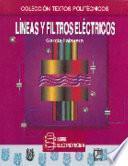 libro Líneas Y Filtros Eléctricos