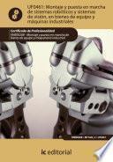 libro Montaje Y Puesta En Marcha De Sistemas Robóticos Y Sistemas De Visión, En Bienes De Equipo Y Maquinaria Industrial. Fmee0208