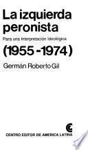libro La Izquierda Peronista
